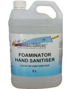 Foaming Hand Sanitiser Alcohol Free 5L