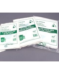 Garbage Bin Liners Degradable Green Rolls 73L Ctn250