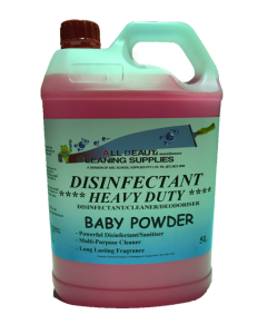 Disinfectant Heavy Duty Baby Powder 5L
