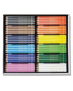 Jumbo Washable Colour Pencils Triangular Box 120