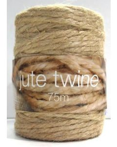 Jute Natural 4Ply 75m Roll
