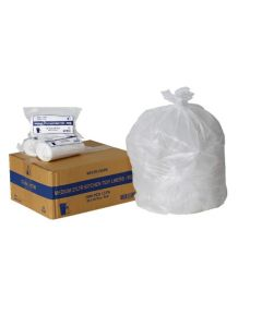 Kitchen Tidy Liners 27L White Ctn1,000 - 20 rolls of 50