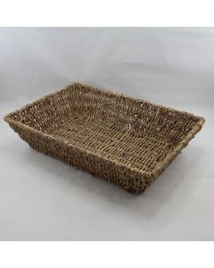Large Seagrass Tray Basket Tray