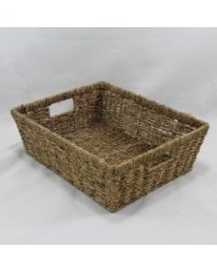 Tapered Seagrass Tray Natural
