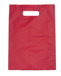 Bag Boutique Small LDPE Magenta 380x255mm Pk100