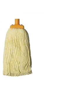 Mop Head Oates Contractor Yellow 400g