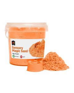 Sensory Magic Sand 1Kg Tub Orange