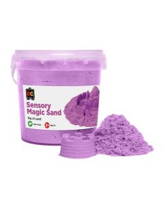 Sensory Magic Sand 1Kg Tub Purple