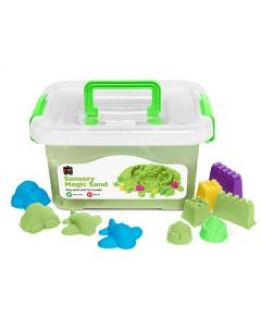 Sensory Magic Sand 2Kg Tub Green