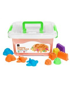 Sensory Magic Sand 2Kg Tub Orange