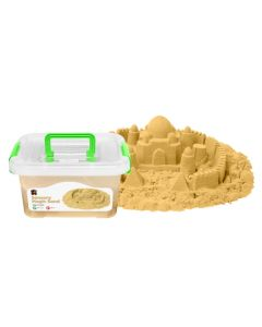 Sensory Magic Sand & Moulds 2kg Tub Natural