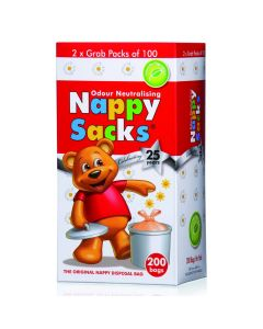 Nappy Sacks Degradable Odour Neutralising Pk200