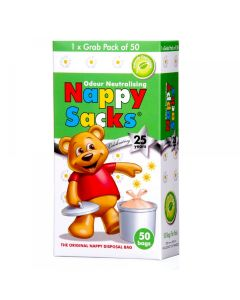Nappy Sacks Degradable Odour Neutralising Pk50