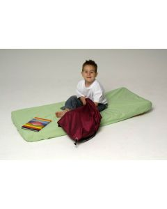 Cot Bottom Fitted Sheet - Lime Green (Nombre)