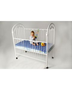 Cot Bottom Fitted Sheet - Blue (Nombre)