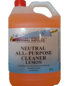Neutral all purpose cleaner Lemon 5L