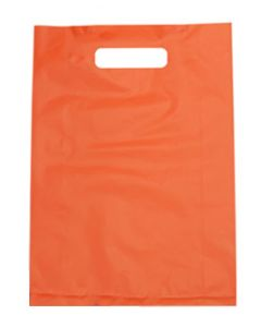 Bag Boutique Small LDPE Orange 380x255mm Pk100