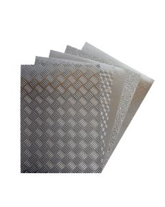 Paper Adhesive Foil Industrial look A4 Pk 20