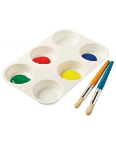 Paint Palette Muffin size No.8
