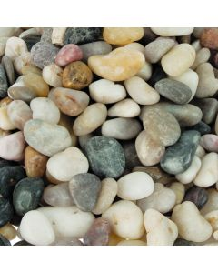 Pebbles/Stones Assorted Colours 1.5kg