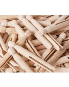 Pegs Dolly Natural 11cm Pk60