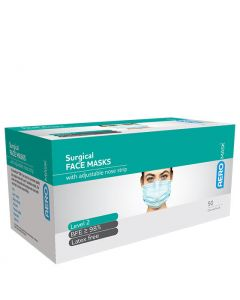 Face Masks 3 Ply Level 2 Ear Loop Box of 50