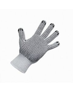 Glove Poly Cotton Dots Extra Large ctn 240 pairs