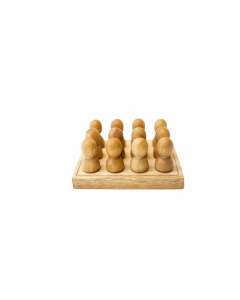 Natural Mini People In Tray
