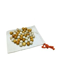 Two Tone Wooden Balls Set of 50