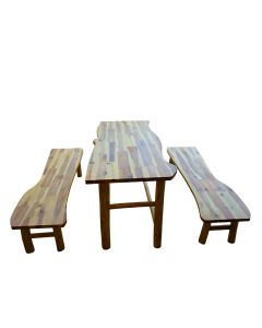 Tree Tables and Two Benches