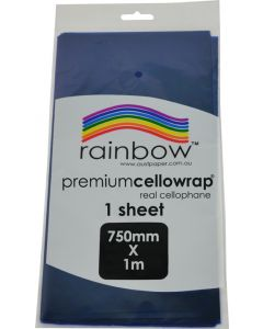 Cellophane Biodegradable Blue Sheet