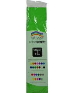 Crepe Paper -Grass Green