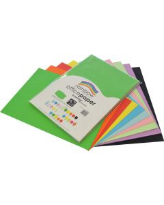 Office Paper Assorted A3 80gsm 100 Sheets