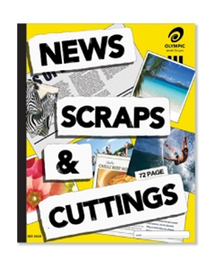Scrap Book 72 pages News