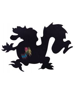 Scratch Art Chinese Dragons with Magnets Pack of 12