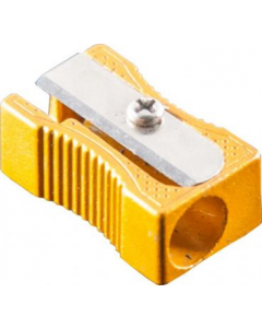 Sharpener 1 Hole Aluminium Pk24