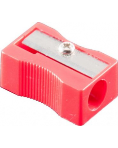 Sharpener 1 Hole Plastic Pk24