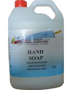 Hand Soap Fragrance Free 5L