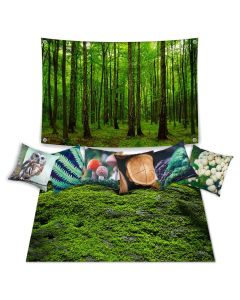 Forest Theme Set with Cushions - Inserts included