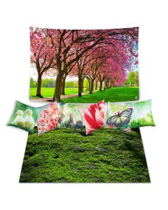 Spring Theme Set with Cushions - Inserts included