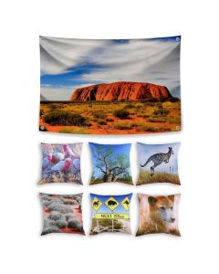 Australia Theme Set with Cushions - Inserts included
