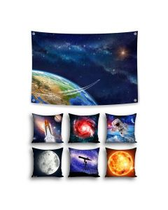 Space Theme Set with Cushions - Inserts included