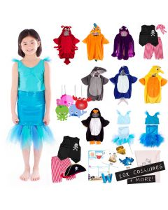 Under the Sea Costumes Pack
