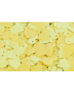 Sequin Chickens Yellow 50g