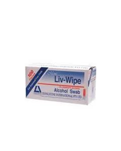 Alcohol Wipe 62x30mm Pk100 ***OUT OF STOCK***