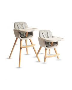 Switch Adjustable Baby to Toddler High Chair Grey