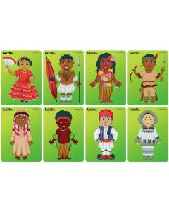 Children of the World Puzzles Set 2 Set of 8