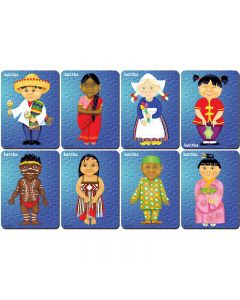 Children of the World Puzzles Set of 8