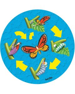 Life Cycle Butterfly Puzzle