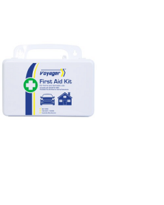 First Aid Kit Plastic Portable Waterproof 13x21x7.5cm Voyager
